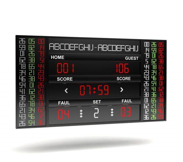 BS 106-14 LINE NBA SCOREBOARD LEVEL 2