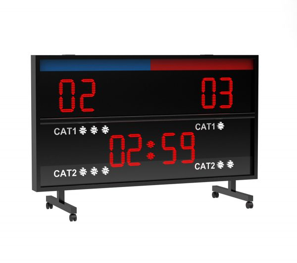 BS 124 KARATE SCOREBOARD