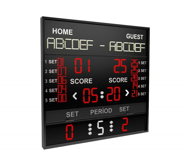BS 138 VOLLEYBALL PROFESSIONAL SCOREBOARD